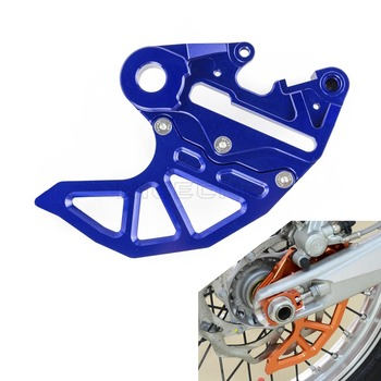 Motorcycle Rear Brake Disc Guard W/ Brake Caliper Support For Husqvarna TE FE TC FC 125 150 250 350 390 450 Husabarg KTM