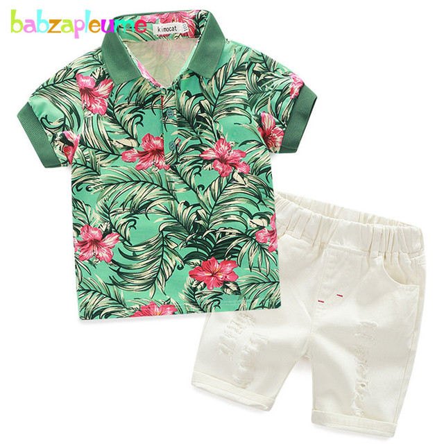 8763895291302 ... Baby Boys Clothing Sets Toddler Casual Suits Short Sleeve White T-shirt+Red  Shorts Children Clothes BC1065. Previous; Next