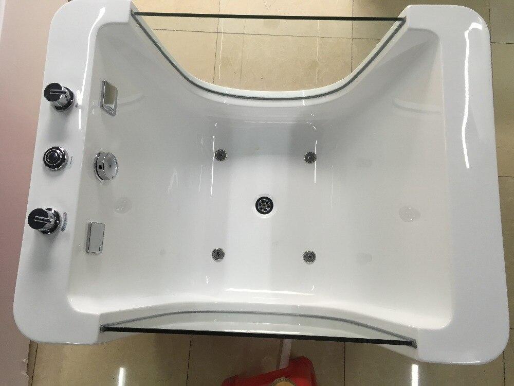 Whirlpool Kleine Badkamer : Kleine maten vrijstaande badkamer acryl massage whirlpool baby bad
