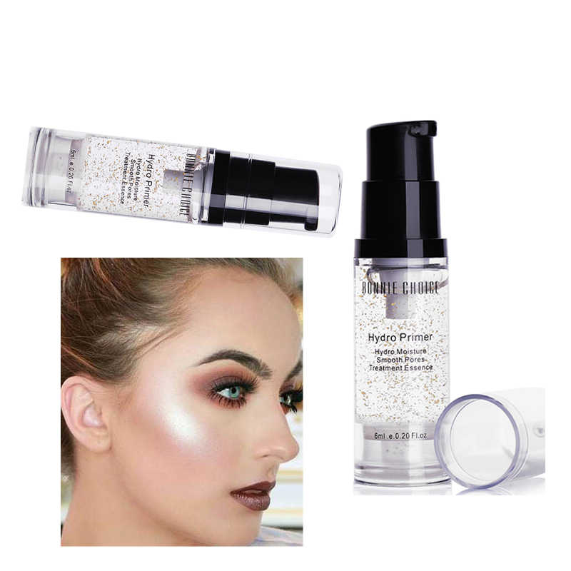 BONNIE CHOICE 1 botella Base Facial maquillaje aceite-control hidratante líquido crema Facial brillo Base cosmético