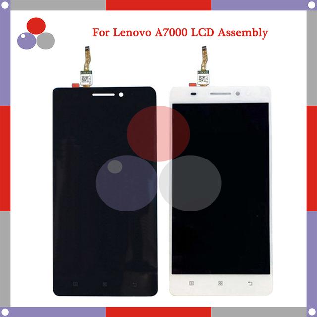 Más alto de calidad para lenovo a7000 pantalla lcd + pantalla táctil digitalizador asamblea envío gratis