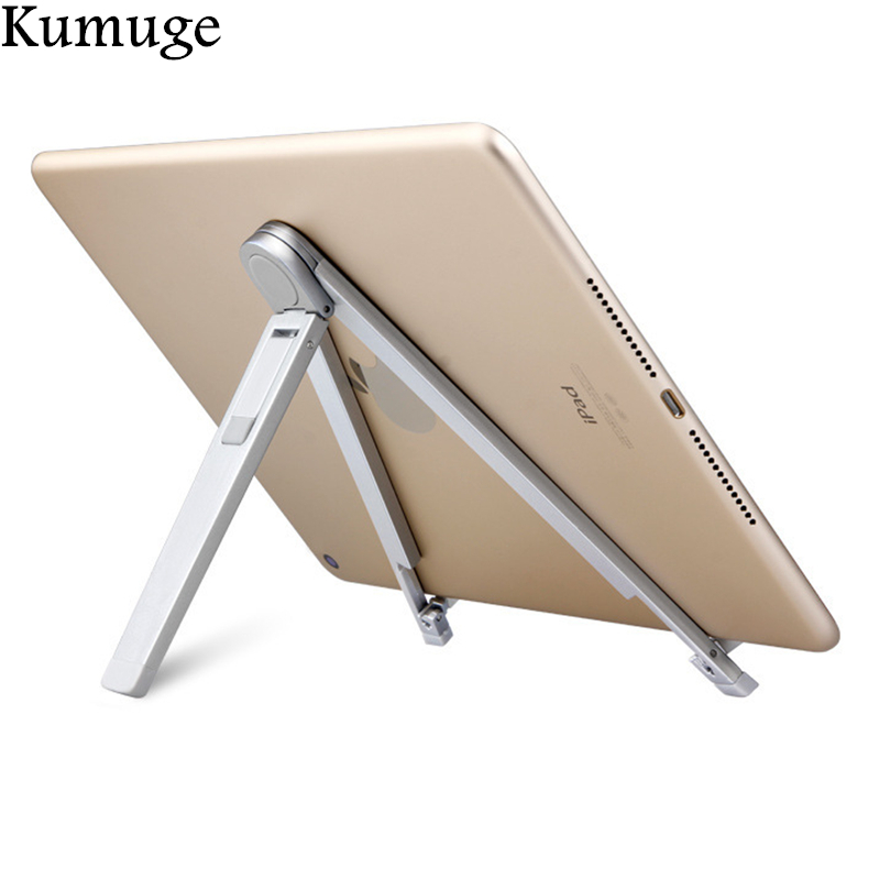 все цены на Foldable Tablet Holder Stand for iPad 9.7 Pro 10.5 Air 2/1 Mini Tablet Desk Mount Mobile Phone Holder for iPhone X 8 7 Samsung