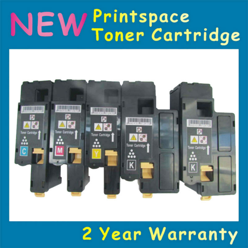 5x NON-OEM Toner Cartridge Compatible For Fuji Xerox DocuPrint CP115W CP116W CP225W CM115W CM225FW KCMY apexway 3000 pages black toner cartridge compatible for xerox 013r00621 for xerox pe220