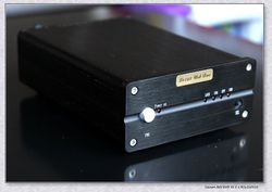 Finished Black L9016DAC ES9016 HiFi DAC Audio Decoder Fiber Coaxial SA9277 USB DSD Decoder