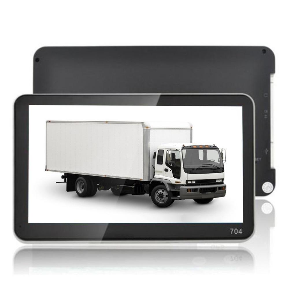 7 Inch 800*480 TFT Protable LCD Display GPS Car Styling Truck Vehicle Portable GPS Navigation Navigator SAT NAV 4GB US Map 7 inch portable hd tft car gps navigator bluetooth av in fm 4gb newest free map