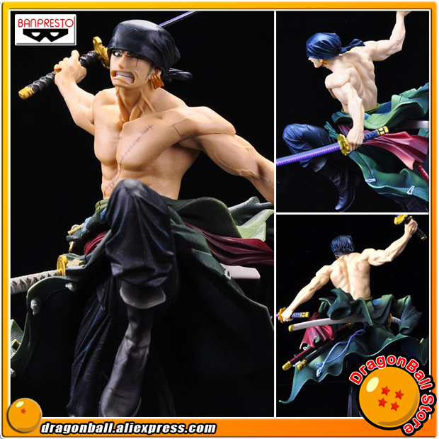 Japan Anime ONE PIECE Original Banpresto WORLD FIGURE COLOSSEUM BWFC Zoukeiou vol.1 Collection Figure - Zoro japan anime one piece original banpresto world figure colosseum bwfc zoukeiou vol 1 collection figure zoro
