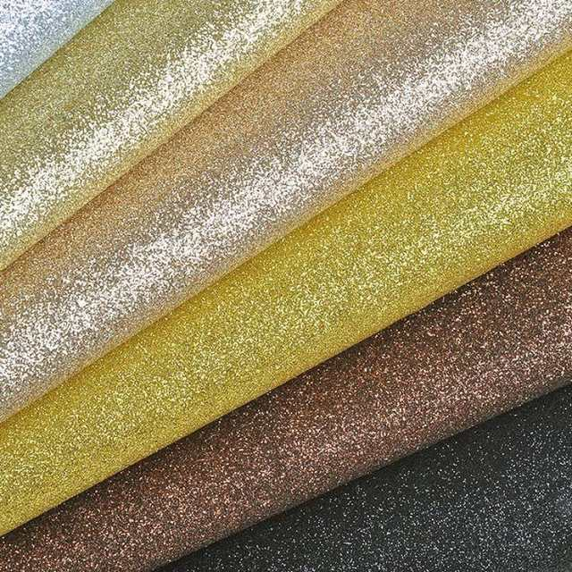 placeholder 100x130cm Glitter Rainbow Pu Faux Leather Fabric Furniture  Upholstery 147fbc688ebe