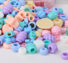 Jewelry DIY hand made 100pcs/lots Mixed Color Acrylic Sea Animal Series Spacer Beads For Jewelry Making DIY Bracelet Necklace