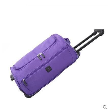 18นิ้ว20นิ้ว22นิ้วผู้หญิงCabinกระเป๋าเดินทางกลิ้งผู้หญิงเดินทางกระเป๋ารถเข็นกระเป๋าล้อสัมภาระกลิ้งเดินทางกระเป๋า-ใน กระเป๋าเดินทาง จาก สัมภาระและกระเป๋า บน   1