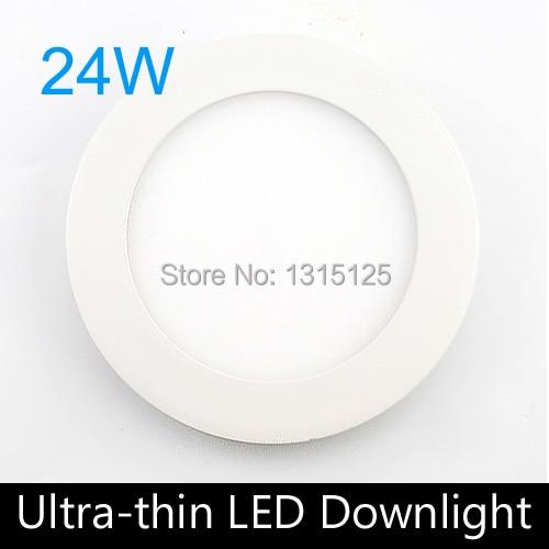 20 STK / PARTIJ Ulthra dunne 24 W Led-paneel Verlichting, ronde LED - LED-Verlichting