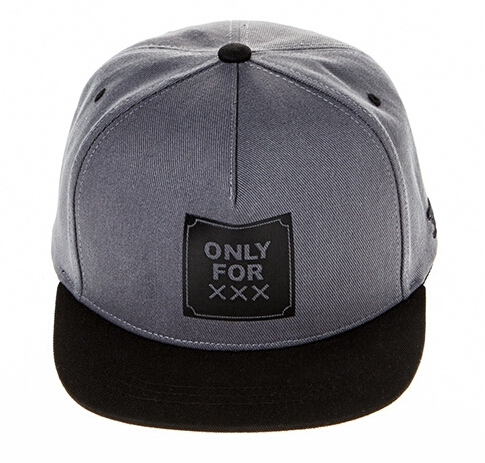 Snapback teenager only for XXX embroidery gray hip-hop hat men and women  mens baseball caps brand a54d32ece37
