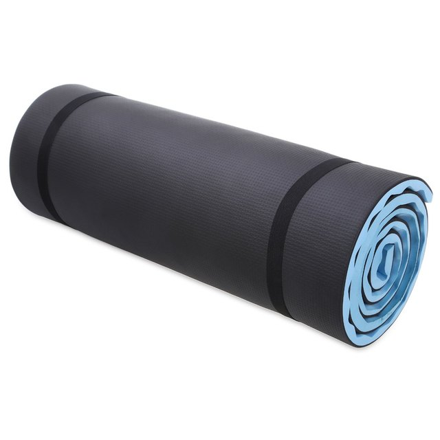 Yoga Mat With Carrying Straps