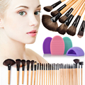32pcs Professional Soft Eyebrow Shadow Makeup Brush Set Kit Brushegg Face Care Practical Tools