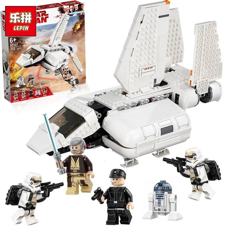 Lepin 05147 StarWars compatible avec lego 75221 jouets Impériale Landing Craft Modèle Blocs briques de construction Enfants Cadeaux D'anniversaire