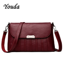 Youda New Ladies Square Clamshell Package Original Casual Shoulder Bag Crossbody Bags Vintage Style Girls Clutch