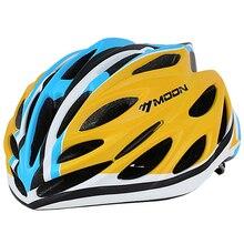 MOON Ultralight 220g Bicycle Helmet In-mold Cycling Helmet Mountain Road MTB Bike Helmet Casco Ciclismo 55-61CM