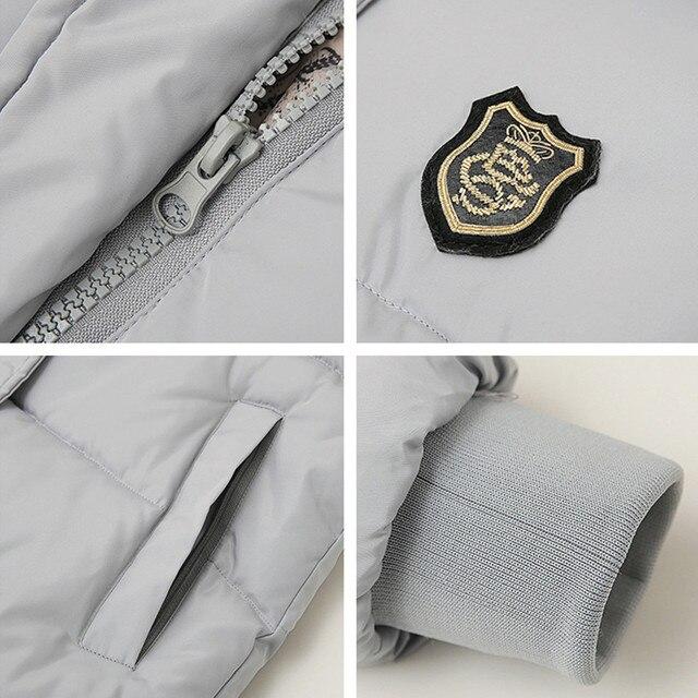 2018 New Long Parkas Female Women Winter Coat Thickening Cotton Winter Jacket Womens Outwear Parkas for Women Winter Outwear 4