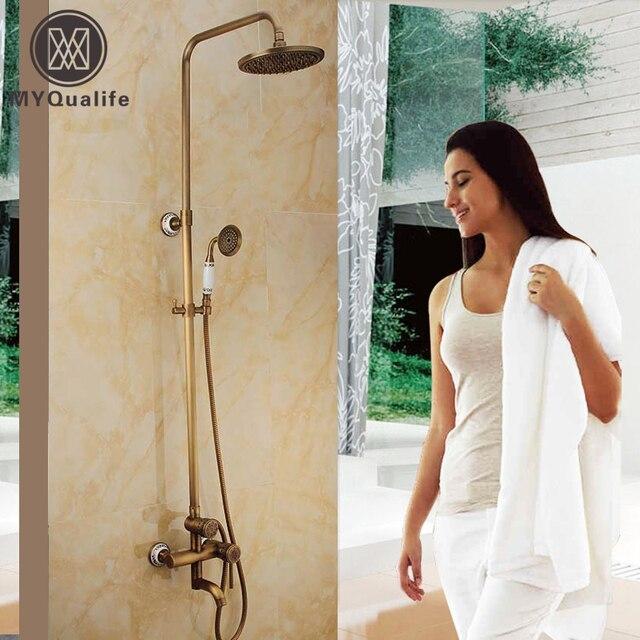 Best Quality Bathroom Outdoor Shower Mixer Set 8 Brass Rainfall