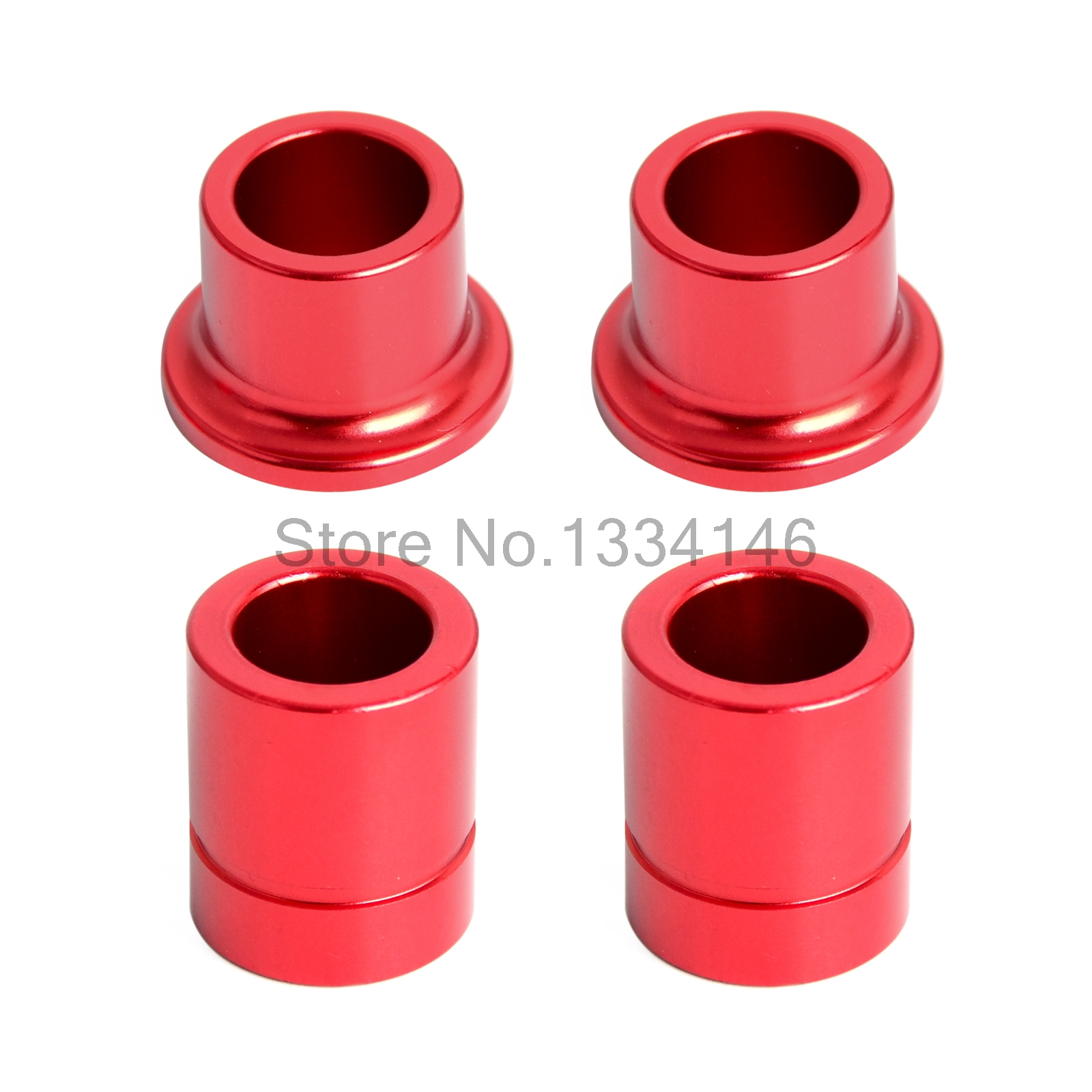 Cnc Red Front & Rear wheel hub spare kit  For Honda CRF250L CRF250M 2012-2015 2013 2014 15 Motocross Supermoto Dirt Bike