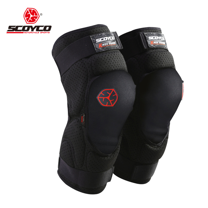 SCOYCO Motorcycle Riding Knee Protector Extreme Sports Knee Pads Bicycle Cycling Bike Racing Tactal Skate Protective Gear scoyco k11h11 motorcycle sports knee elbow protector pad guard kit black
