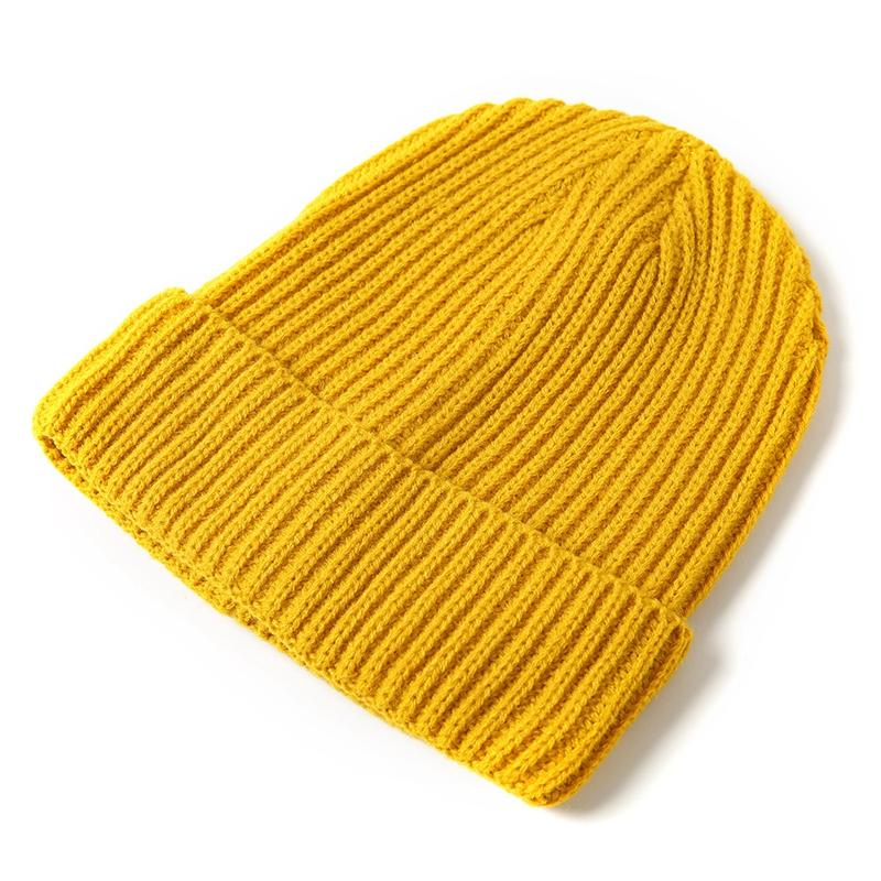 Casual Knitted   Beanie   Hat Female Unisex Solid Warm Soft Hot Women's Knitted Winter Hats For Men Women Caps   Skullies     Beanies