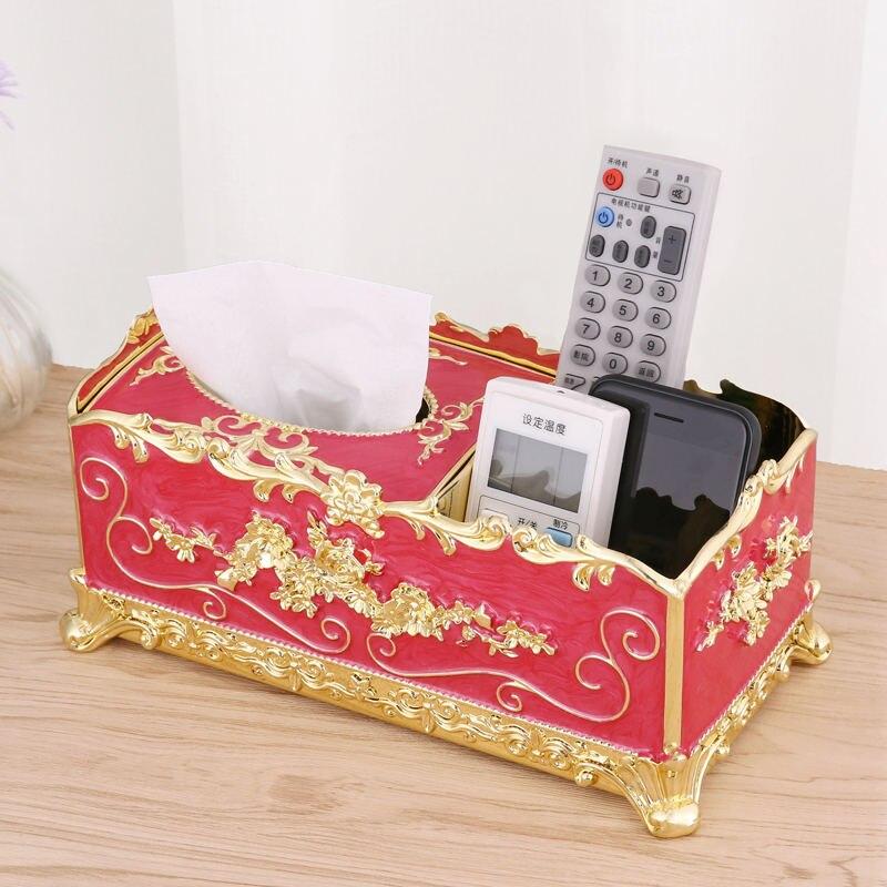 Акриловая коробка для салфеток бумажная стойка аксессуары для офисного стола домашний офис KTV отель автомобильный чехол для лица держатель шкатулка украшений - Цвет: 5