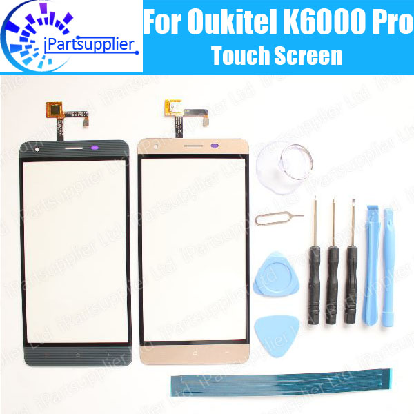 Oukitel K6000 Pro Touch Screen Panel 100% Guarantee Original Glass Panel Touch Screen Glass Replacement For Oukitel K6000 Pro