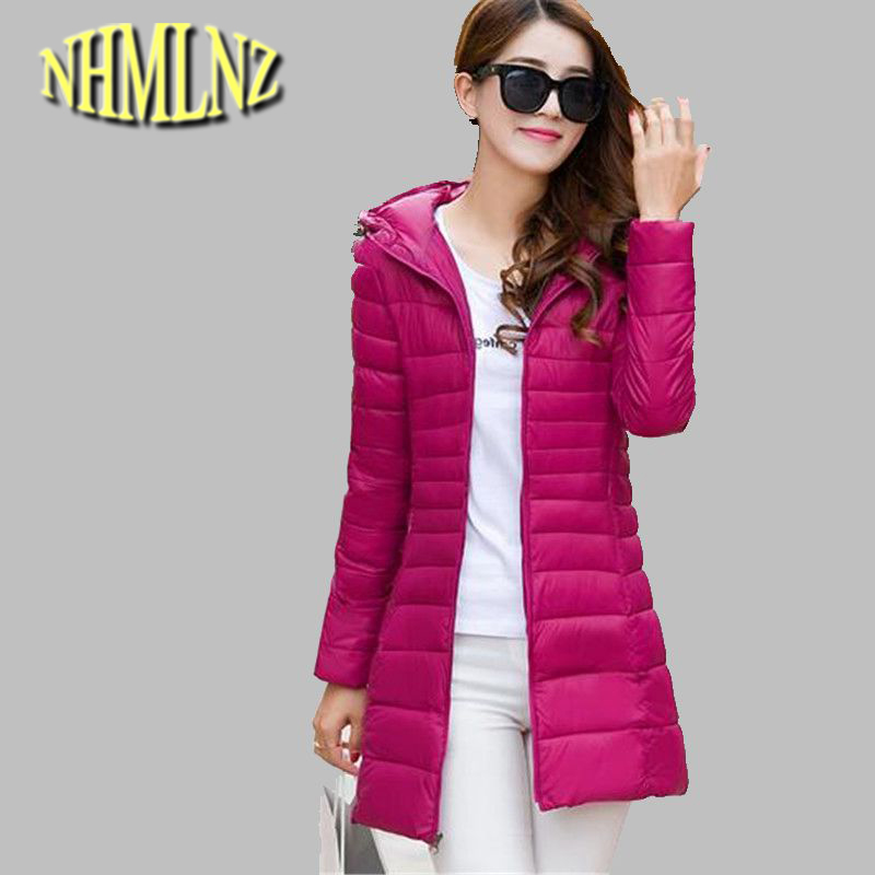 Winter Jacket Korea New Fashion Women Hooded Jacket Thick Warm Cotton Down jacket Big yards Leisure Slim Warm Coat Women G2730 women winter coat leisure big yards hooded fur collar jacket thick warm cotton parkas new style female students overcoat ok238
