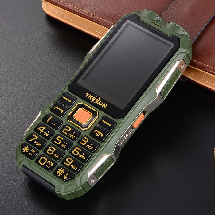 gift power bank FM shockproof Flashlight original mobile phone Russian keyboard gsm china Cell Phones cheap