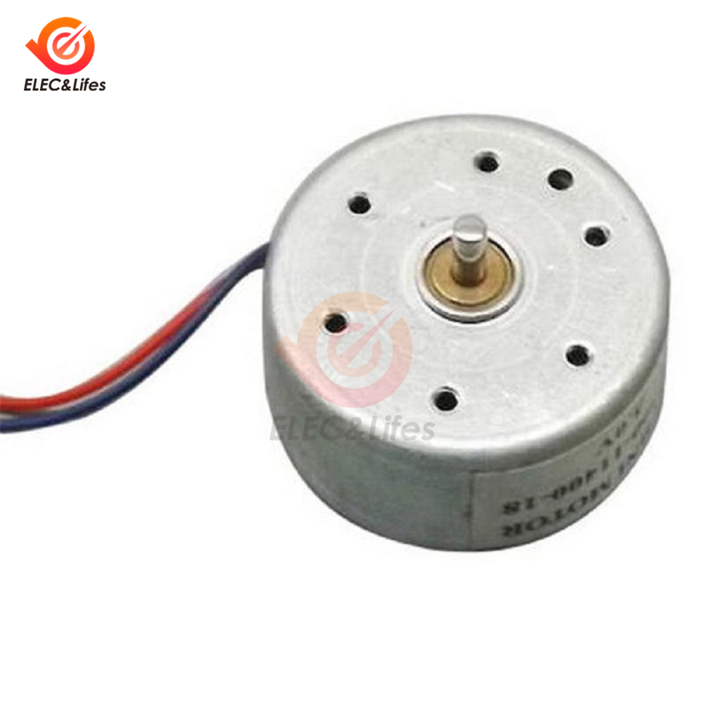 2 PCS 130 DC1.5-6V 1:94 Geared motor //w Box shell Case for DIY smart Robot Car L