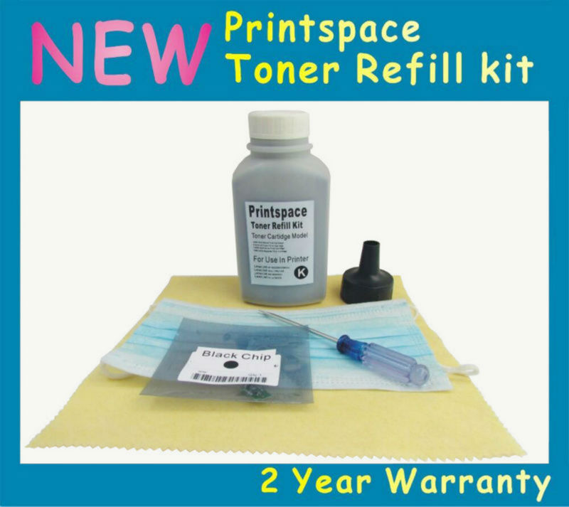 NON-OEM Toner Refill Kit + Chip Compatible For Fuji Xerox WorkCentre 7120 7125 7220 7225 KCMY compatible for xerox workcentre compatible laser printer toner cartridge reset chip 013r00621