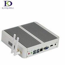 [Седьмого Поколения Intel Core i5 7200U] новейшие Кабы Озеро Win10 Mini PC Макс 3.1 ГГц Кну Безвентиляторный HTPC 4 К TV Box Неттоп Компьютер 4 * USB3.0