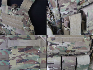 Image 4 - Emersongear LBT6094A Style Tactical Vest With 3 Pouches Airsoft Military Combat Vest AT FG EM7440G