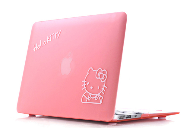 best authentic 75ec1 49872 US $4.15 |Pink Hello Kitty Cute Cartoon Hard Case Keybarod Cover for  Macbook Pro 13
