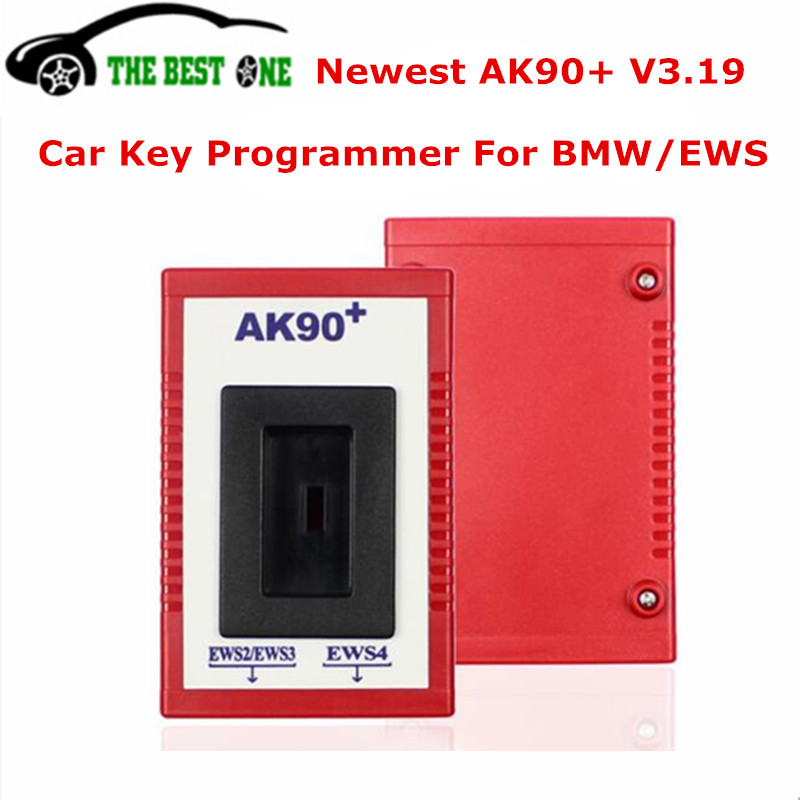 Prix pour 2017 Professionnel Car Styling Pour BMW AK90 Programmeur principal Date V3.19 Pour BMW/EWS AK90 + Auto Key Programmeur AK 90 Livraison le bateau