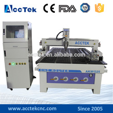 high precision wood picture frame cnc machine for 3d work AKM1325