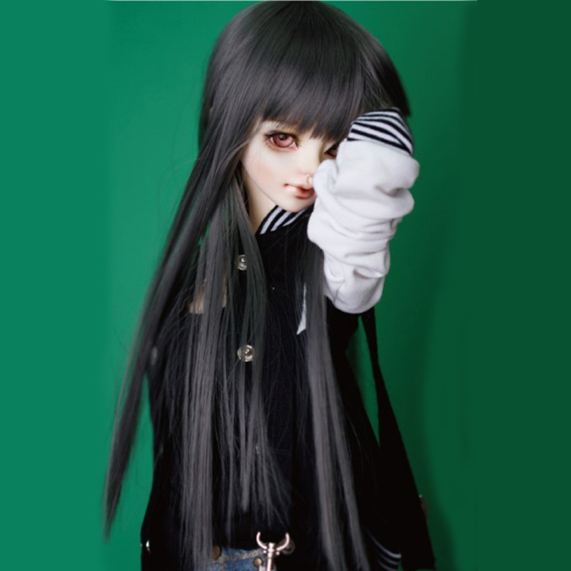 Nice Cateleya Doll Accessories Bjd Sd Doll Hair Can Diy Hair Long Straight Hair Can Be Diy Bangs Brown Black Gray Wig Free Shipping Preventing Hairs From Graying And Helpful To Retain Complexion