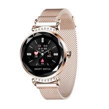 H2 Smart watch Waterproof Women ladies Heart rate monitor Fitness Tracker IP68 Fashion smart bracelet