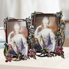 Luxury European-style photo frame 6 inch 7 creative beautiful studio pendulum
