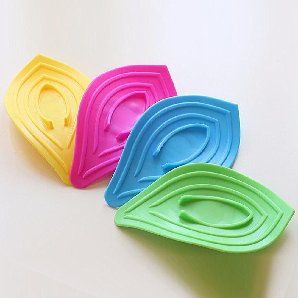 5Pcs Multifunctional Kitchen Sink Sponge Holder Slip Ring Leaves ...