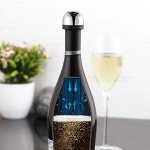 Image 4 - Youpin Funkelnden Wein Mini Champagner Stopper Mini Wein Stopper Rotary Schloss DesignVacuum Effiziente Erhaltung