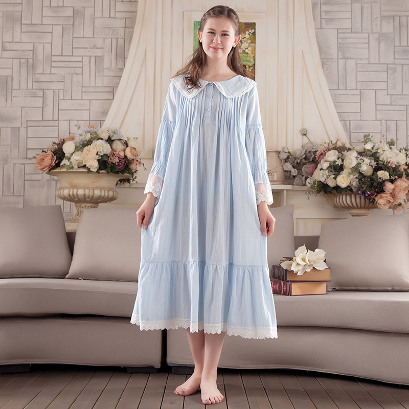 Nightgown Dress Sleepwear Nightdress Vintage Sleepwear Women