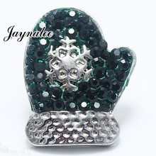 ФОТО   Christmas ginger Buttons Christmas gloves 18/20mm Snaps Buttons fit Snaps Jewelry Bracelets GS1114020
