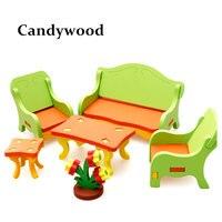 Candywood diyของเล่นไม้3dประกอบ