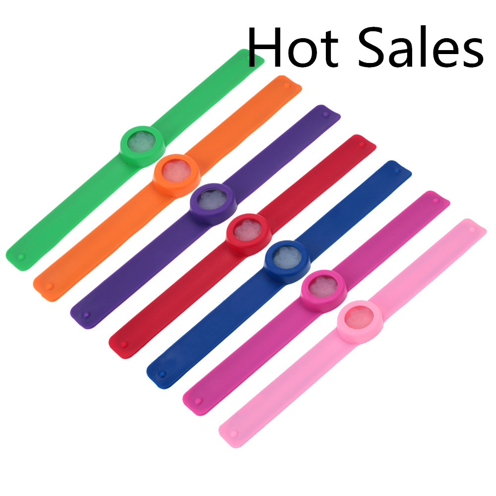 Hot cute multicolor 240 hours Pure natural repellent outdoor/Indoor use men/women/children Camping mosquito repeller bracelet(China (Mainland))