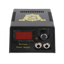Tattoo Professional Digital Tatoo Power Supply Foot +Pedal+ Clip Cord Supplies P142-3