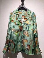 WE11709 женские модные блузки и рубашки для мальчиков 2018 взлетно посадочной полосы Элитный бренд Европейский дизайн вечерние стиль