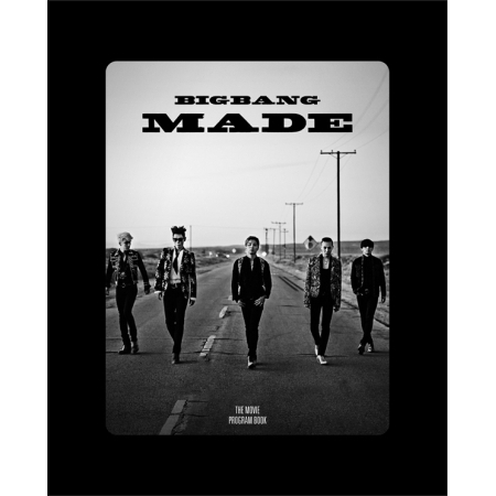 BIGBANG10 BIGBANG MADE PROGRAM BOOK 136 pages photobook KPop bigbang 2012 bigbang live concert alive tour in seoul release date 2013 01 10 kpop