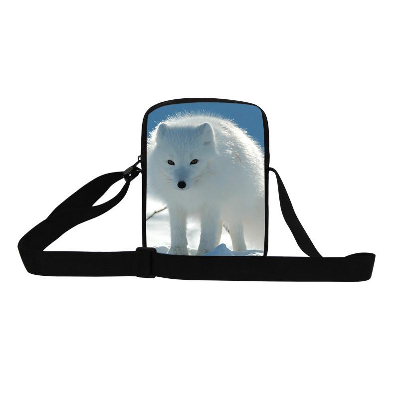 10 2015 Cute Cat Messenger Bags for Women Kawaii Zoo Printing Kids Crossbody Bags Children Outdoor Travel Bag Desigual Handbag
