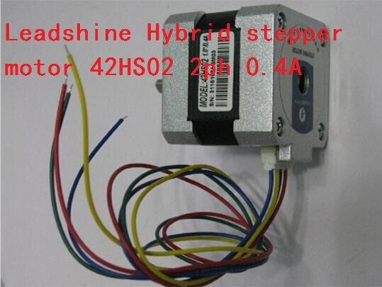 Leadshine 42 nema17 0.22NM Hybrid stepper motor 42HS02 2ph 4 leads 0.4A L 40mm engraving milling 3D printer